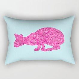 Pink Tammy Rectangular Pillow