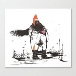 REDHAT Canvas Print