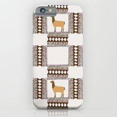 Lamas of Machu Picchu iPhone 6s Slim Case