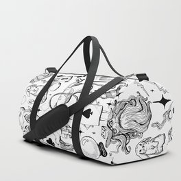 Antique Magic Starter Pack Black and White Duffle Bag