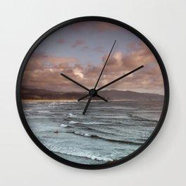 Pacific City Coastline Wall Clock