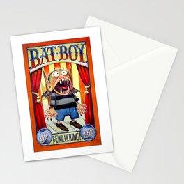 Bat Boy Stationery Cards