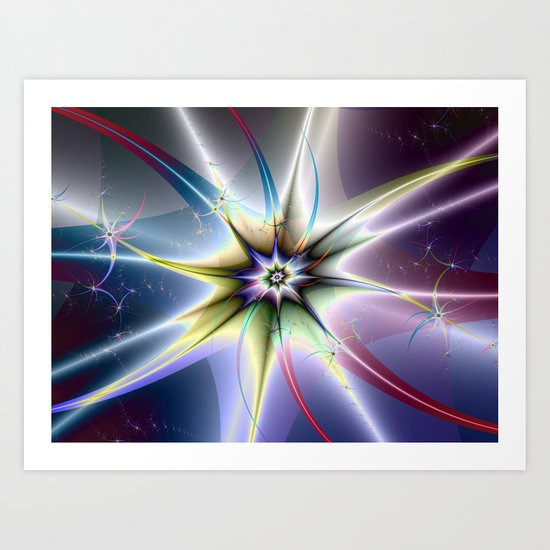 Star Burst Art Print