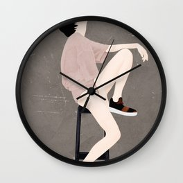 Wondering Model Flow Wall Clock