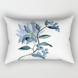 Blue Bayou-tanical Rectangular Pillow