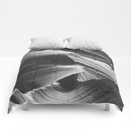 ANTELOPE CANYON IV / Arizona Desert Comforters