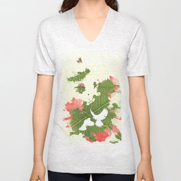 Leaf Bird Unisex V-Neck