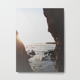 Shell Beach View Metal Print
