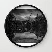 portugal Wall Clocks featuring AMARANTE, Portugal by Elias Silva Photography