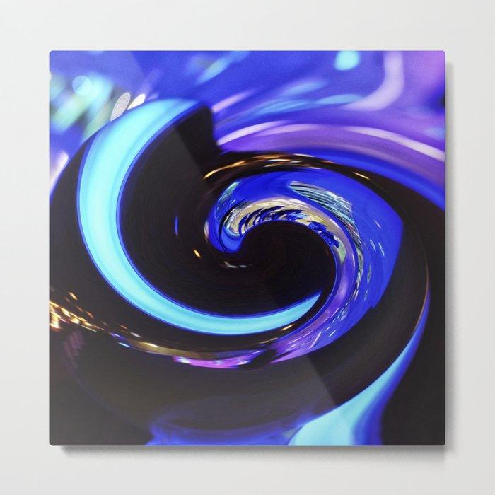 Swirling colors 01 Metal Print