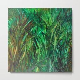 This Grass is Greener Metal Print