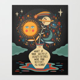 Deepest heart's desires Canvas Print