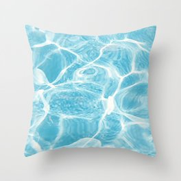 Light in the Caribbean Throw Pillow