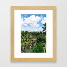 Sri Lankan Gardens Framed Art Print