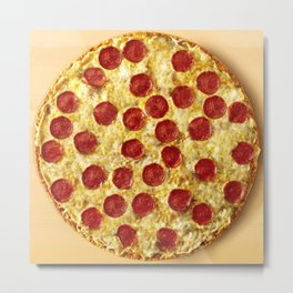 Who Wants Pizza? Metal Print