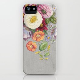 Hanna Floral iPhone Case