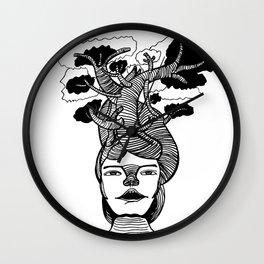 Mme Bonsai Wall Clock