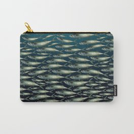 Mackerel At School. Carry-All Pouch