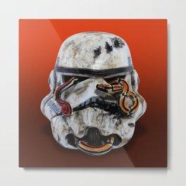 snake and stormtrooper Metal Print