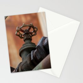 Rusty tubes Stationery Cards