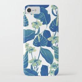 pure blue nature iPhone Case