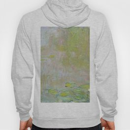 Water Lily Pond by Claude Monet Hoody
