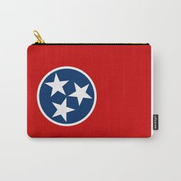 State flag of Tennessee - Authentic version Carry-All Pouch