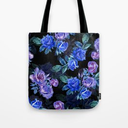 Indigo Night Garden Tote Bag