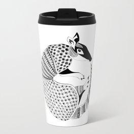 Possum on the Half Shell (Armadillo) Travel Mug