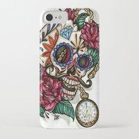 gentleman iPhone & iPod Cases featuring Gentleman by catscratchproject