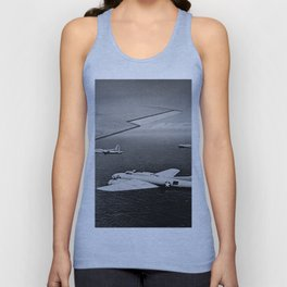 B-17F Flying Fortress Bombers over the Southwest Pacific Unisex Tank Top