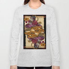 'Caterpillar' (Alice in Steampunk Series) Long Sleeve T-shirt