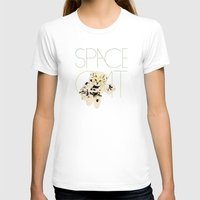 space cat T-shirts featuring Space Cat by Koning