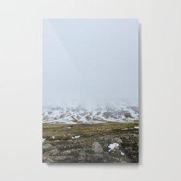 Above Seydisfjordur Metal Print