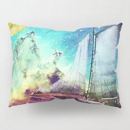 Galileo's Dream - Schooner Art By Sharon Cummings Pillow Sham