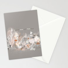 Three dancers Stationery Cards