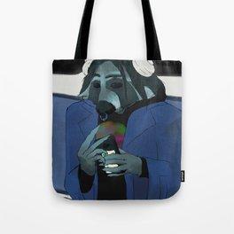 Raccoon self-portrait Tote Bag
