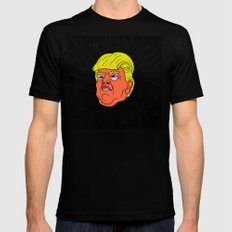Trump loves the Poorly Educated Mens Fitted Tee Black MEDIUM