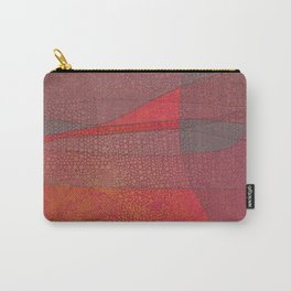 """Pastel Abstract Symmetrical Landscape"" Carry-All Pouch"