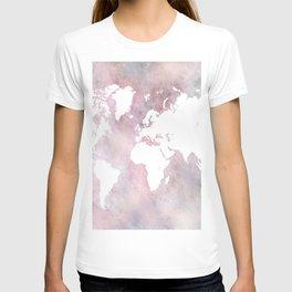 Design 66 world map T-shirt