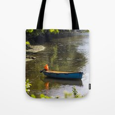 Tranquil Mooring Tote Bag