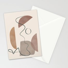 Minimal Abstract Shapes No.62 Stationery Cards