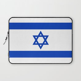 Flag of the State of Israel - High Quality Image Laptop Sleeve