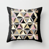 quilt Throw Pillows featuring quilt 2015 by Ariadne