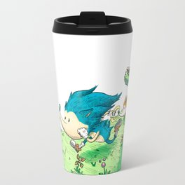 Starring Sonic and Miles 'Tails' Prower (Alt.) Travel Mug