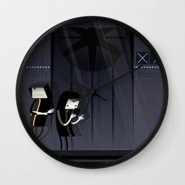 Bot Patrol Wall Clock