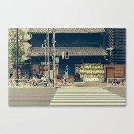 Tokyo by Bike Canvas Print