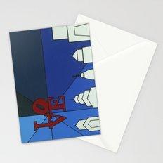 blue LOVE shine Stationery Cards