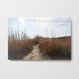 Your Path Metal Print
