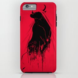 Revenge Of The Toro iPhone Case